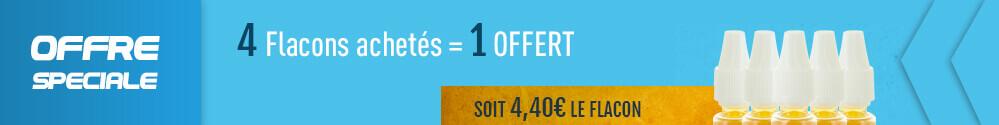 flacon e-liquide D'lice offert