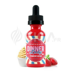 Strawberry Custard ZHC- Dinner Lady