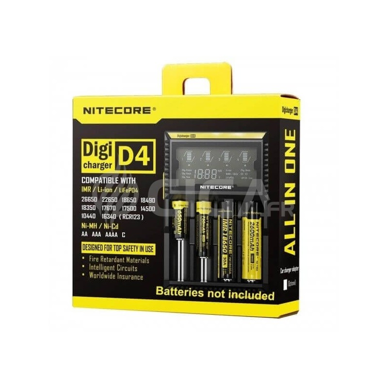 Sysmax D4 Digicharger - Nitecore