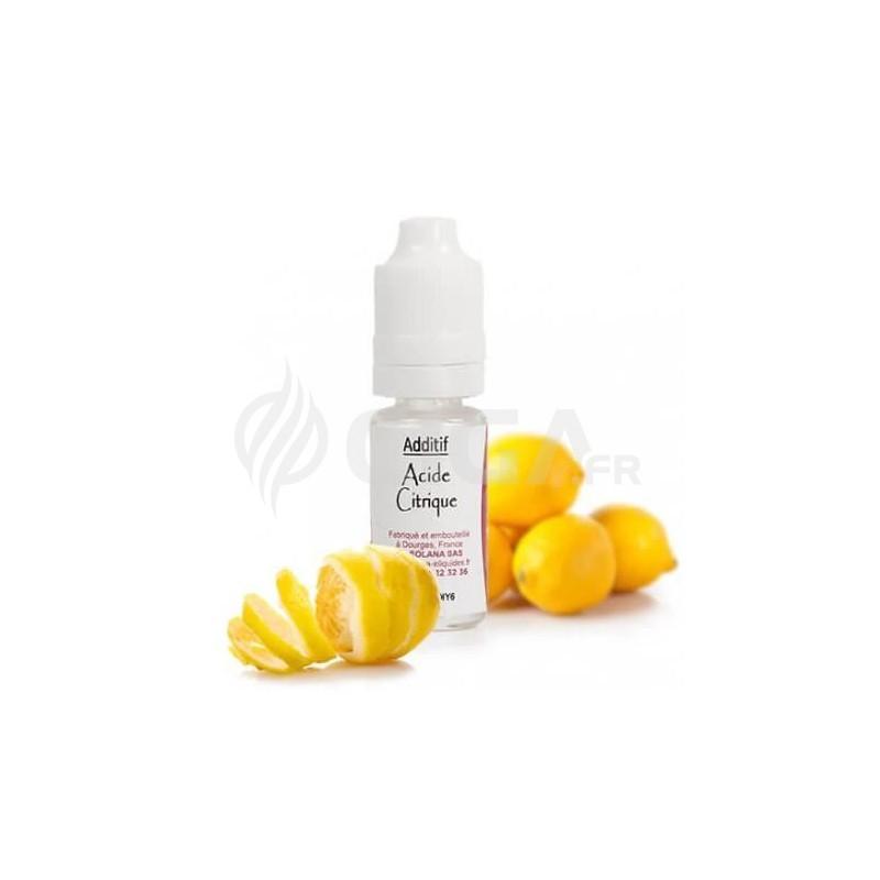 Additif Acide Citrique - Solana