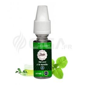 E-liquide Thé Vert à la Menthe de Tasty Collection de Liquidarom.