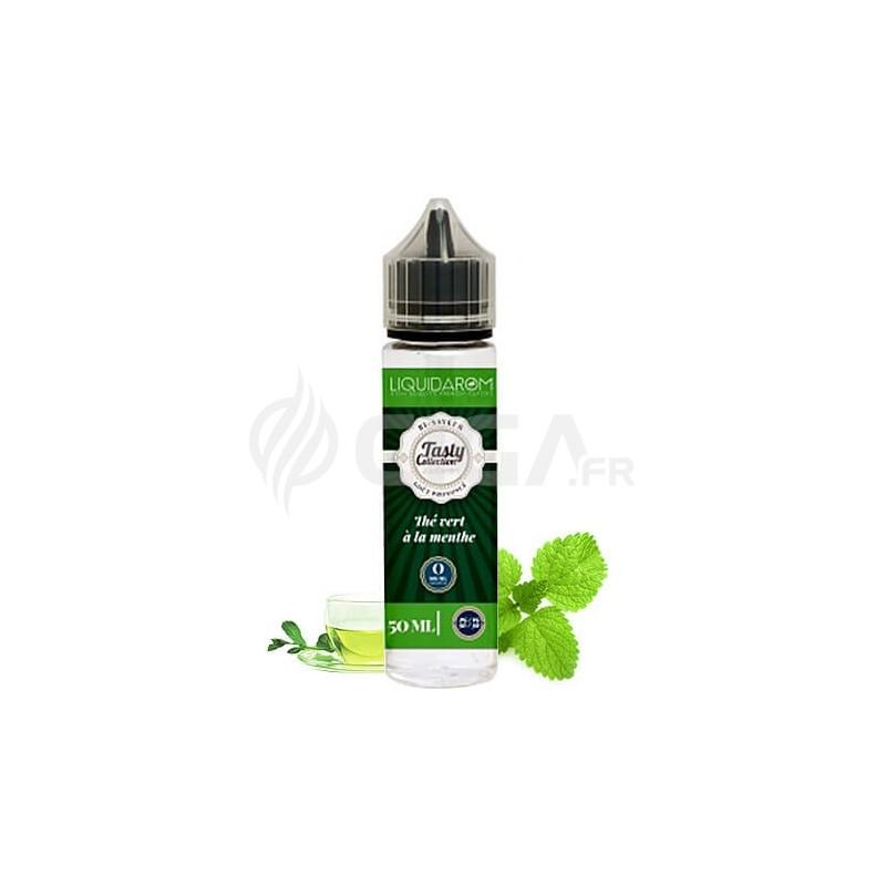 E-liquide Thé Vert à la Menthe en 50ml de Tasty Collection de Liquidarom.
