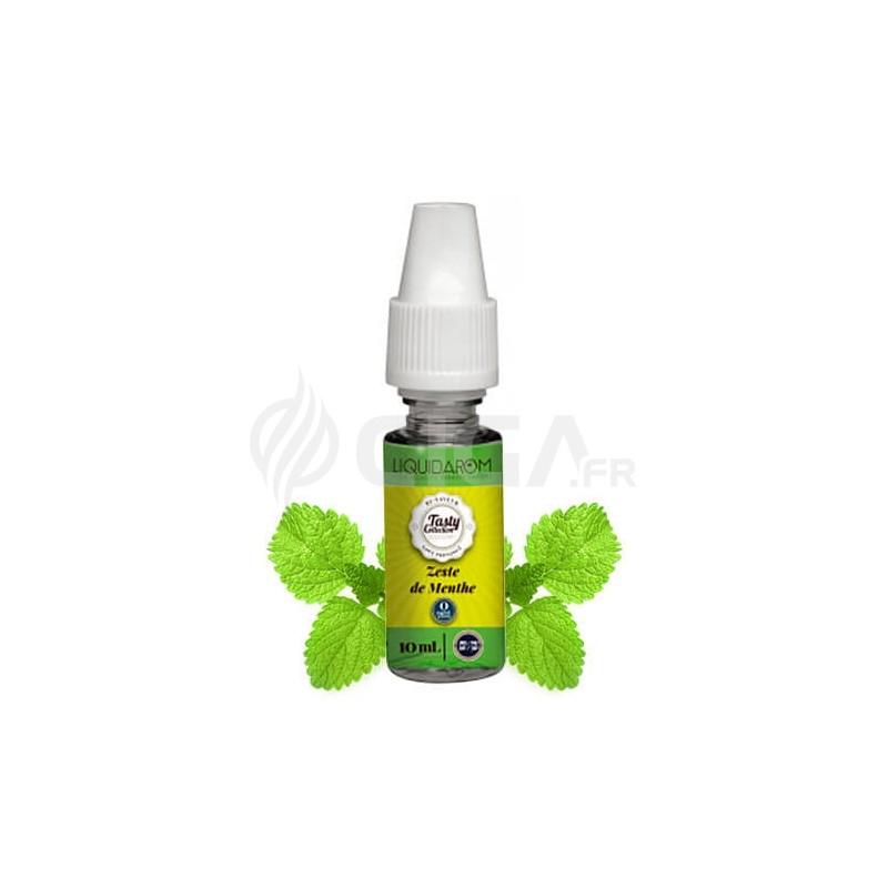 E-liquide Zeste de Menthe de Tasty Collection de Liquidarom.