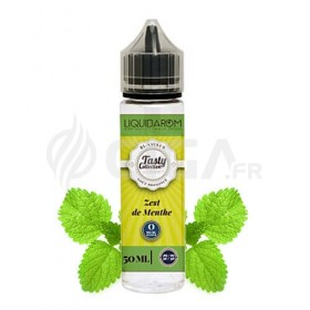 E-liquide Zeste de Menthe en flacon de 50ml de Tasty Collection de Liquidarom.