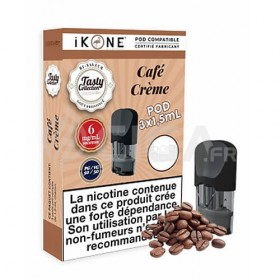 Pod Café Crème pour le kit Wyve de Liquidarom.