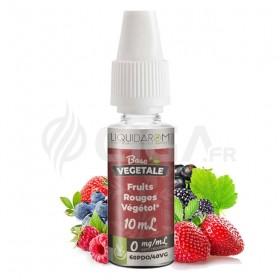 E-liquide Fruits Rouges au Végétol de Liquidarom Base Végétale.