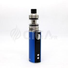 Cigarette électronique iStick T80 bleu + Pesso de Eleaf.