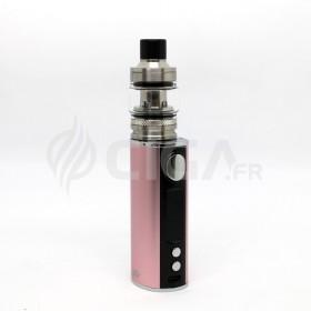 Cigarette électronique iStick T80 rose + Pesso de Eleaf.