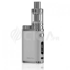 Kit iStick Pico TC 75w argent Eleaf