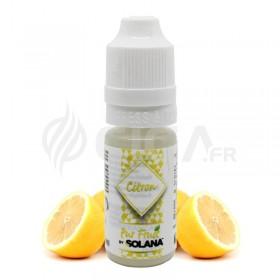 E-liquide Citron Pur Fruit de Solana.