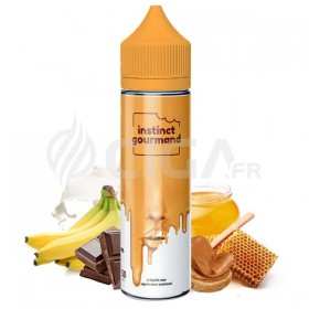 E-liquide Honey & Milk en flacon de 60ml de Instinct Gourmand de Alfaliquid.