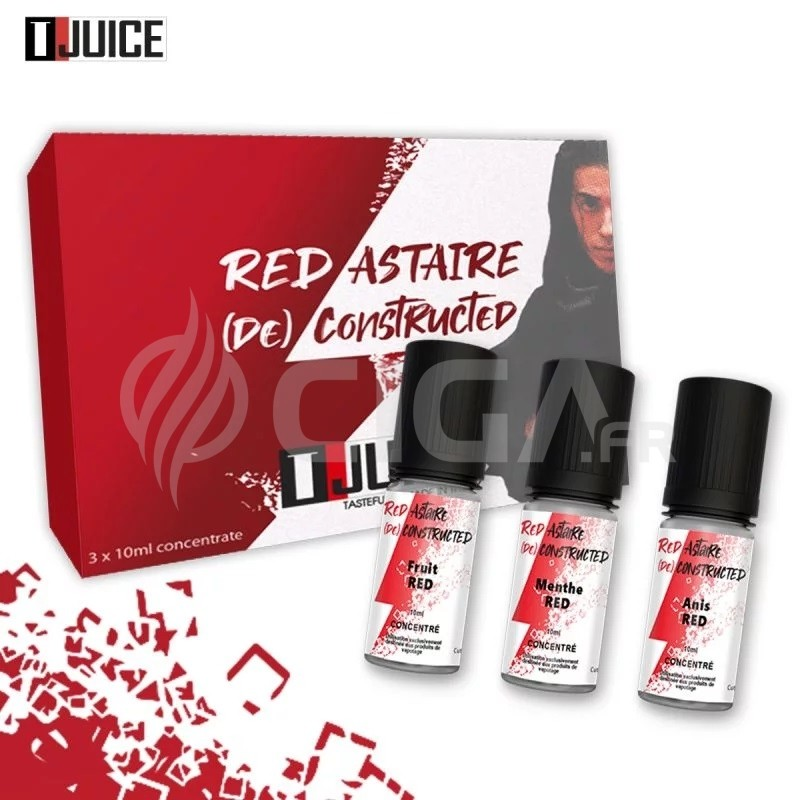 Red Astaire Deconstructed 3 x 10 ml - T-Juice