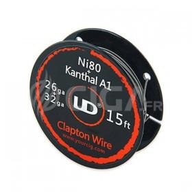 Clapton Wire Ni80 (26ga) + Kanthal (32ga) - Youde