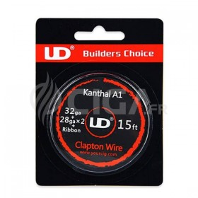 Clapton Wire A1 32ga + 28gaX2 + Ribbon - Youde