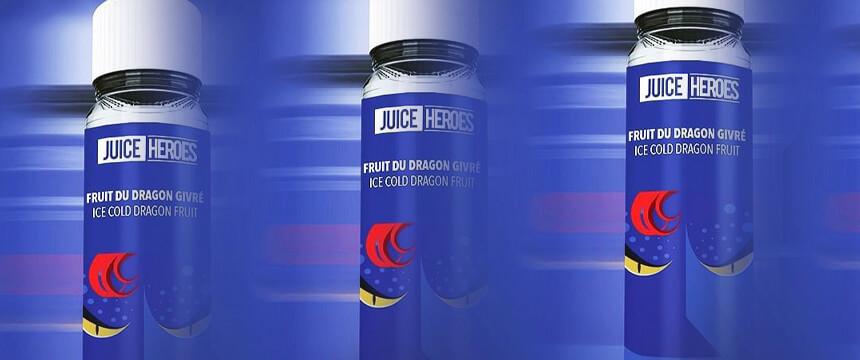 Présentation produit du eliquide Mistik Juice Heroes de Liquideo