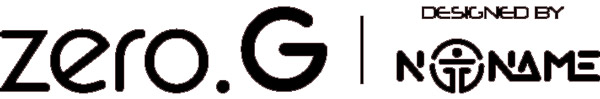 Logo du kit pod Zero.G, cigarette électronique fabriquée par Aspire en collaboration avec les modeurs italiens : No Name.