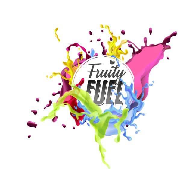 Logo de la marque française de e-liquides aux goûts fruités : Fruity Fuel.