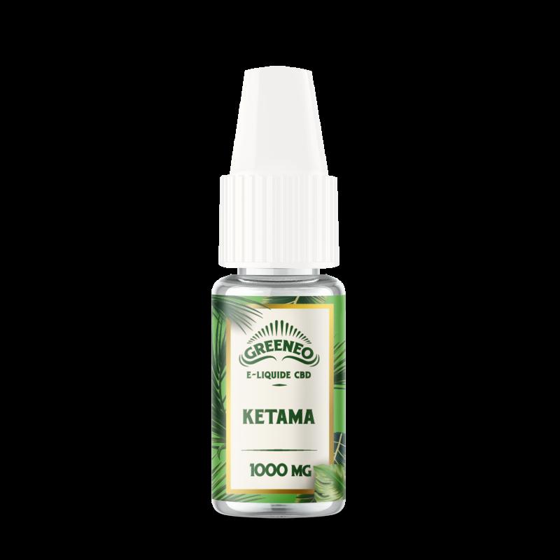 Le Ketama est un e-liquide CBD full-spectrum de la marque française Greeneo.