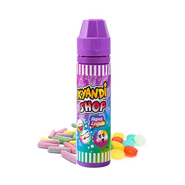 Eliquide Super Lequin de la gamme française Kyandi Shop : e-liquides goûts gourmands bonbons et chewing-gums.