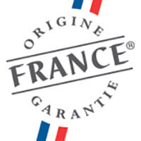 Logo du label origine France garantie.