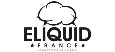 Logo de la marque française de eliquides : Eliquid France.