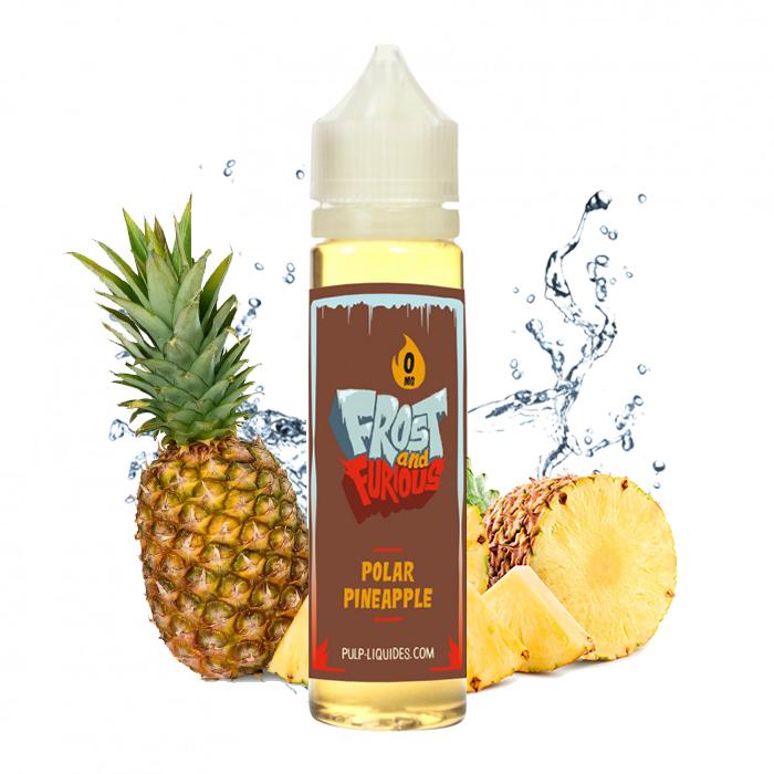 Flacon du eliquide Polar Pineapple 50 ml de Pulp, fabricant français de eliquide pour le vapotage.