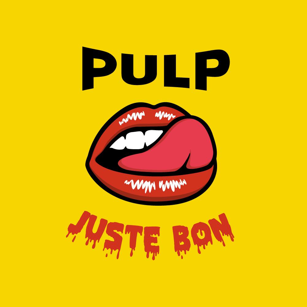 Logo de la marque française de eliquide pour le vapotage : Pulp.