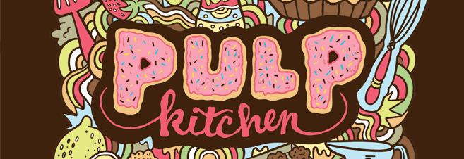 Logo de la gamme de eliquide Pulp Kitchen fabriqué par le fabriquant français Pulp.