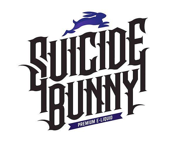 Logo de la marque américaine de Eliquides gourmands en 50 ml : Suicide Bunny.