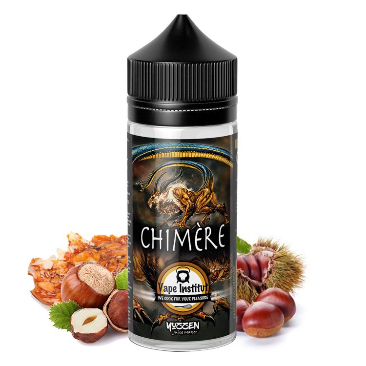 Photo du flacon du eliquide Chimère en 100 ml de la marque française de e-liquide Vape institut.