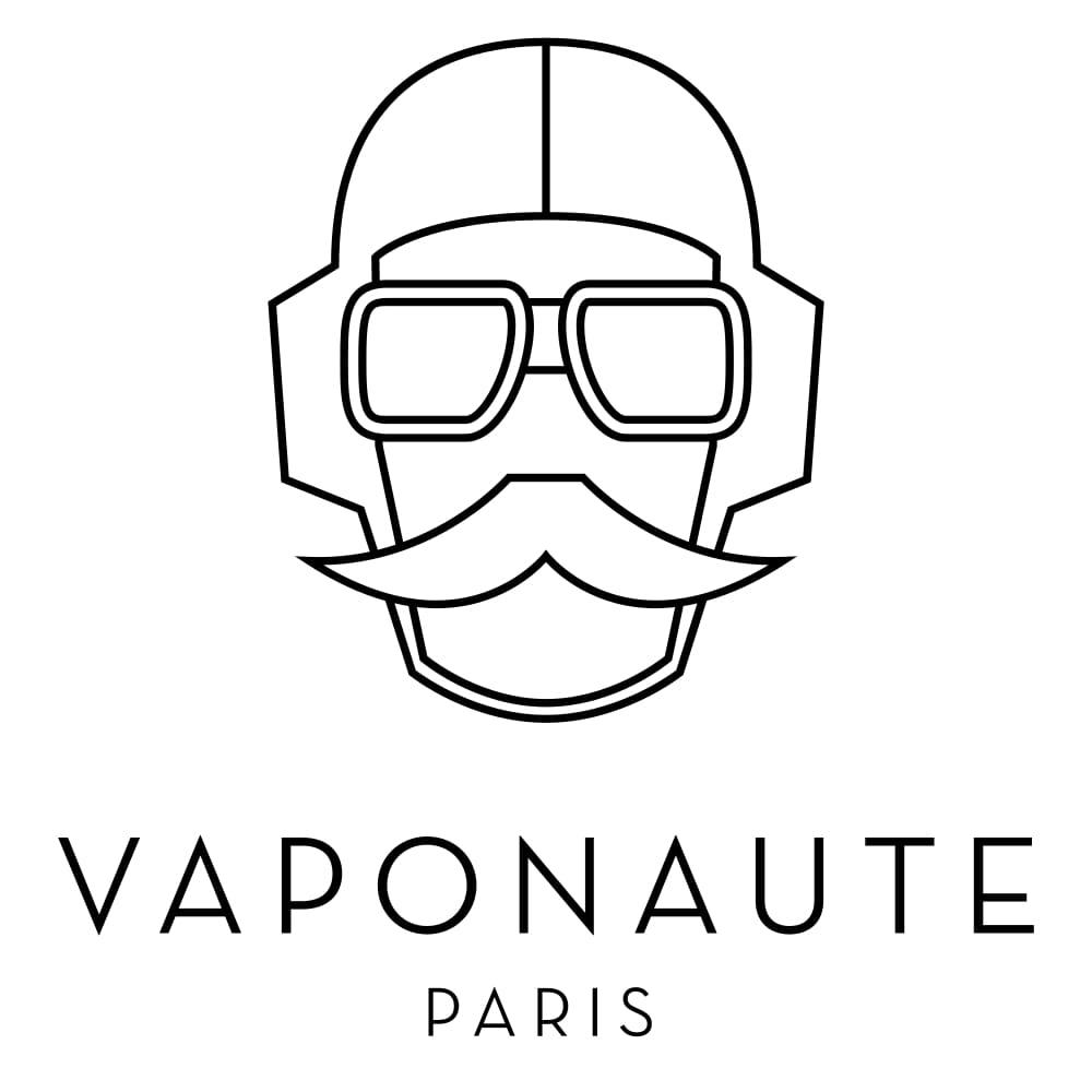 Logo de la marque française de e-liquides Vaponaute fabriqués par la société Gaiatrend.
